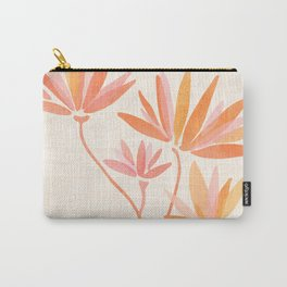 Basking In The Summer Sun / Japanese Botanical Woodblock Carry-All Pouch