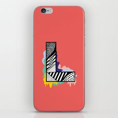 L for …. iPhone Skin