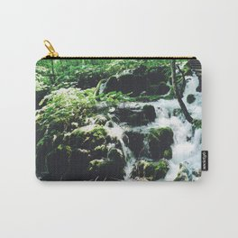Croatian Waterfall Carry-All Pouch