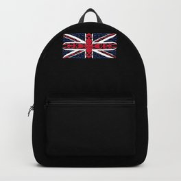 Union Jack British Flag Ornamental Style Backpack