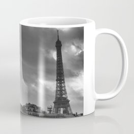 Eiffel tower under the clouds Coffee Mug