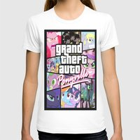 grand theft auto T-shirts featuring My little grand theft by eatpersonality
