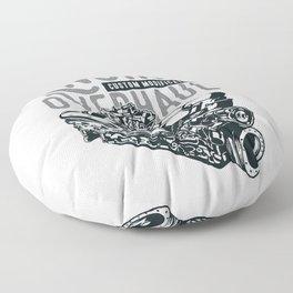V8 Engine Floor Pillow