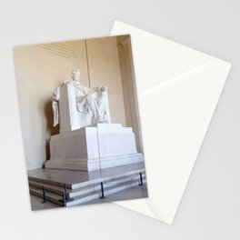 Abe lincoln photography Stationery Cards