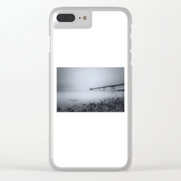 1046248 Clevedon Pier Clear iPhone Case