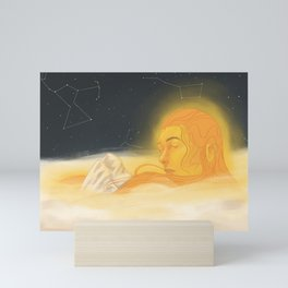 golden slumbers (without person) Mini Art Print