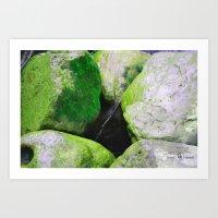 moss Art Prints featuring Moss by Darkest Devotion