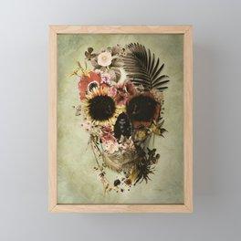 Garden Skull Light Framed Mini Art Print