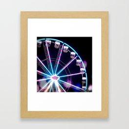Night ride Framed Art Print