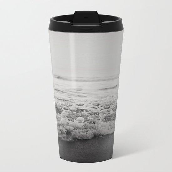 Ocean Crash Metal Travel Mug