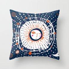Sol Azul Throw Pillow