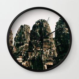 TRANSCENDENCE // The Bayon, Siem Reap, Cambodia Wall Clock
