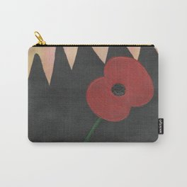 Dawn Poppy Carry-All Pouch