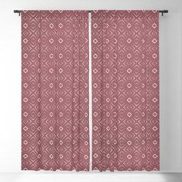 (N4) Anthropologie Vintage Moroccan Pattern. Blackout Curtain