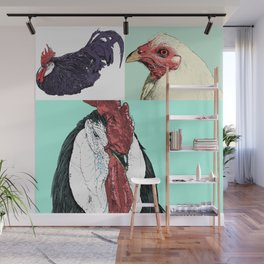 Flock No. 1 Wall Mural