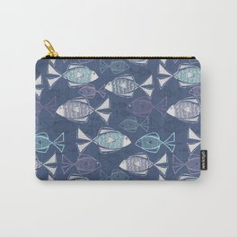 Here, Fishy Fishy Carry-All Pouch