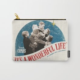 It's a Wonderful Life - Poster Carry-All Pouch