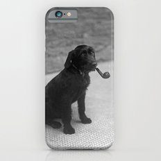 Pipe puffing dog. Slim Case iPhone 6s