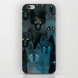 In the Company of Wolves iPhone Skin