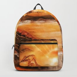 Africa is alive Backpack