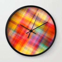 Colorful Design Wall Clock