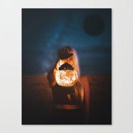 Moon Lamp by GEN Z Canvas Print