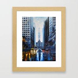City Hall Philadelphia 2016 Framed Art Print