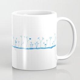 Lawn of hearts Coffee Mug