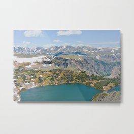 Beartooth Lakes Metal Print