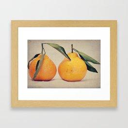 Clementines 2 Framed Art Print