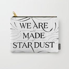 Stardust x White Carry-All Pouch