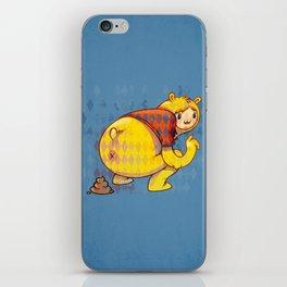 Just poo iPhone Skin