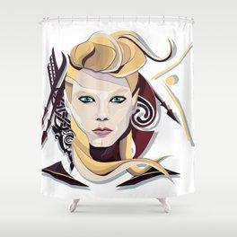 Queen Lagertha Shower Curtain