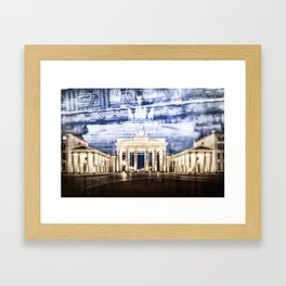 BERLIN Brandenburg Gate | In Detail Framed Art Print