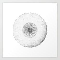 Unseeing Eye Art Print