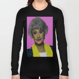 Bea Arthur: The Golden Girls Long Sleeve T-shirt