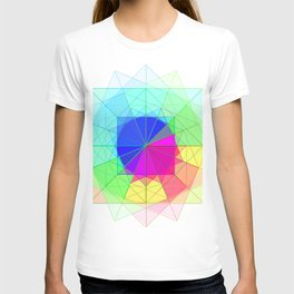 geometric abstract 2 T-shirt