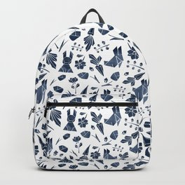 Origami Bunny Backpack