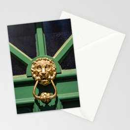 Lion Head Door Knock Stationery Cards