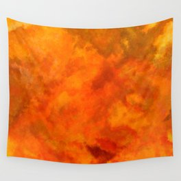 Volcanic explosion Wall Tapestry