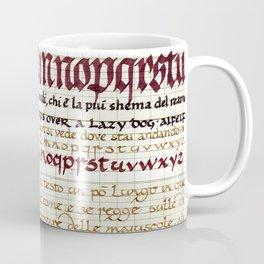 Calligraphy Coffee Mug