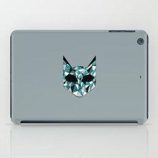 Turquoise Cat iPad Case