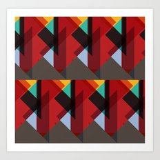 Crazy Abstract Stuff Art Print