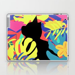 Tropical cat Laptop & iPad Skin