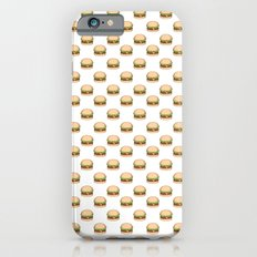 Cheeseburger Pattern Slim Case iPhone 6s