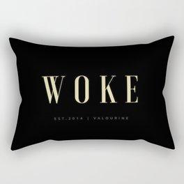 Woke 1 Dark Rectangular Pillow