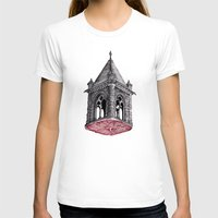 architecture T-shirts featuring Fleshy Architecture  by J.P Ormiston
