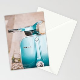 Blue Vespa Stationery Cards