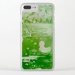 MoonSea Fantasy 2 Clear iPhone Case