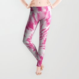 Light Pink Tie Dye Leggings